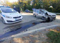 Катастрофа с ранен край Плевен! (ВИДЕО + СНИМКИ)