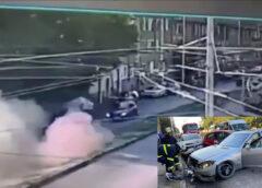 "Видео запечатало жестоката катастрофа на бул. ""Георги Кочев"""